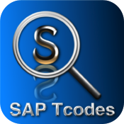SAP TCodes Cheat Sheet Reference Guide icon