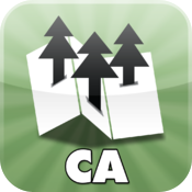California State Parks  maps for all CA state parks  by Maplets icon