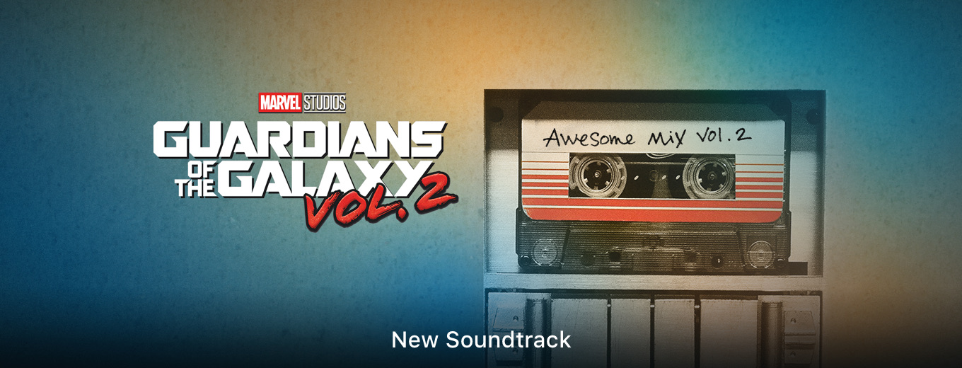Vol. 2 Guardians of the Galaxy: Awesome Mix, Vol. 2 (Original Motion Picture Soundtrack) by Various Artists