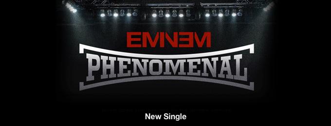 Eminem - Phenomenal - Single