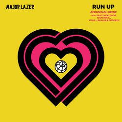 View album Major Lazer - Run Up (feat. PARTYNEXTDOOR, Nicki Minaj, Yung L, Skales & Chopstix) [Afrosmash Remix] - Single