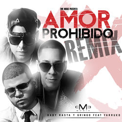 View album Amor Prohibido (Remix) [feat. Farruko] - Single