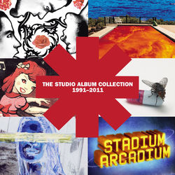 View album Red Hot Chili Peppers - The Studio Album Collection 1991 - 2011