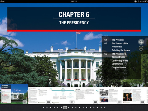 Logo for United States Government App for iPad