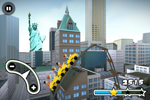 New York 3D Rollercoaster Rush FREE