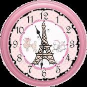 巴黎时钟女孩 Paris Girls Clock