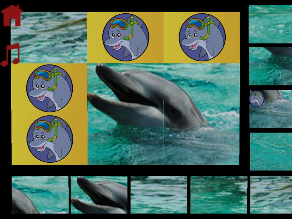 dolphins puzzle for kids - iPhone Mobile Analytics and App Store Data