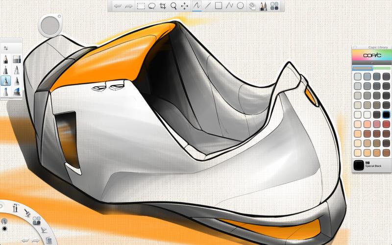 SketchBook Copic Edition Screenshot