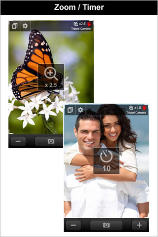 Tripod Camera (+Flash&Zoom) iPhone Screenshot 4