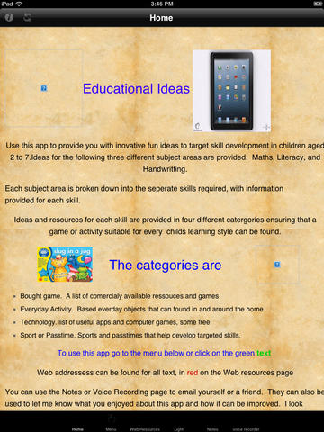 Educational Ideas