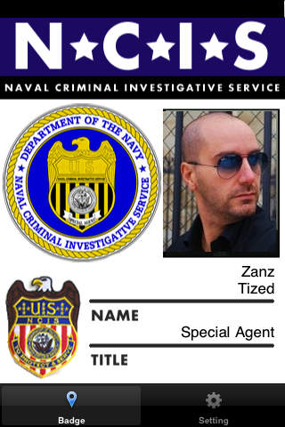 Badge NCIS