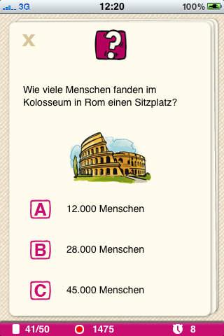 Pocket Quiz: Mehr Allgemeinwissen iPhone Screenshot 3