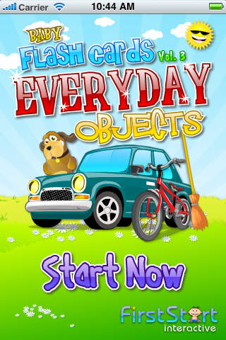 Everyday Objects Baby Flash Cards Volume 3