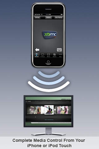 XBMC Remote Screenshot 1