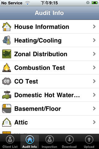 HEAT Professional Home Energy Audit Tool