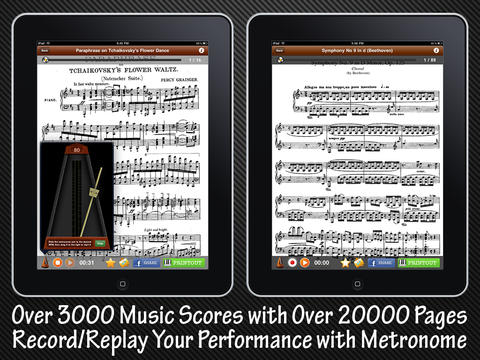 Piano Music Scores: Master's Collection iPad Screenshot 3