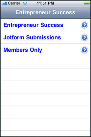 Entrepreneur Success iPhone Screenshot 2