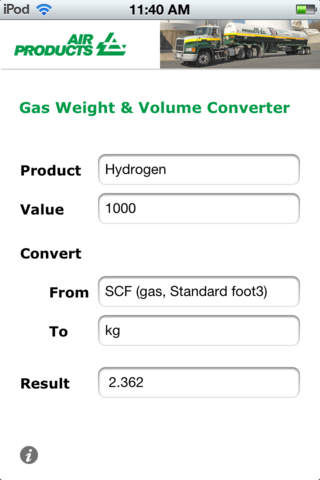 Air Products Gas Converter