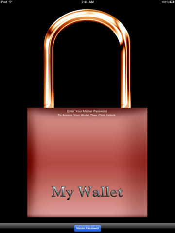 Wallet Advanced - for iPad