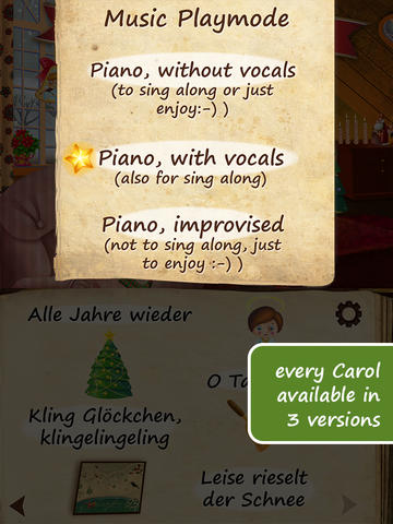 Screenshots for Uber Christmas Carols (German) HD | sing along and enjoy ~ Free