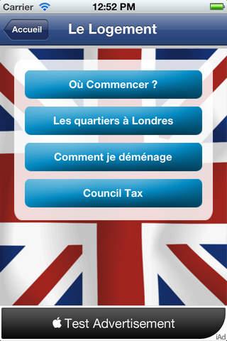 Français à Londres