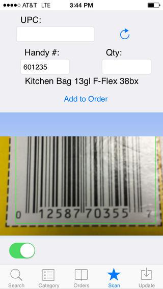 Handy Order App