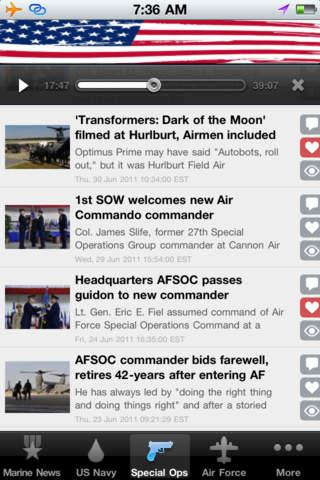 Military News Mobile