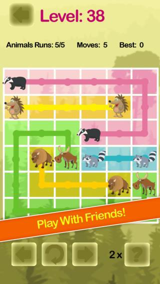 Cute Animal Safari Free Flow Hunting Game - Multi player Version