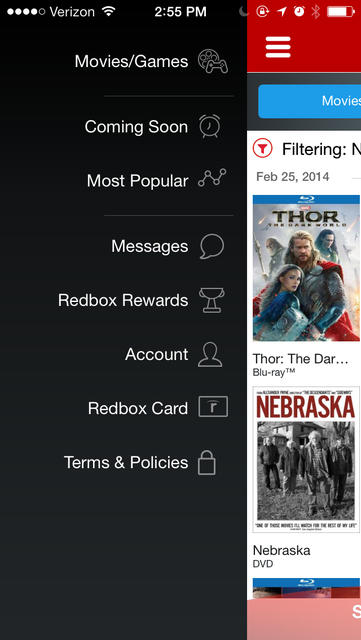 Redbox - iPhone Mobile Analytics and App Store Data