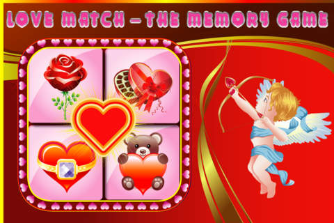 Love Match - the Memory Game Pro