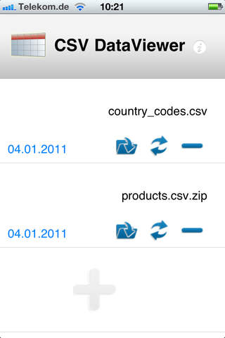 CSV DataViewer