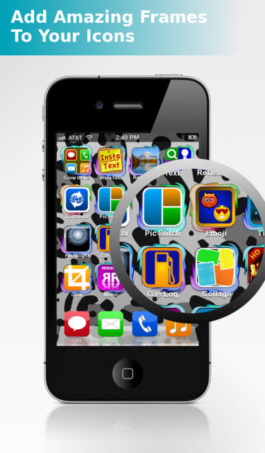 App Icons - Frames and Skins - iPhone Mobile Analytics and App Store Data