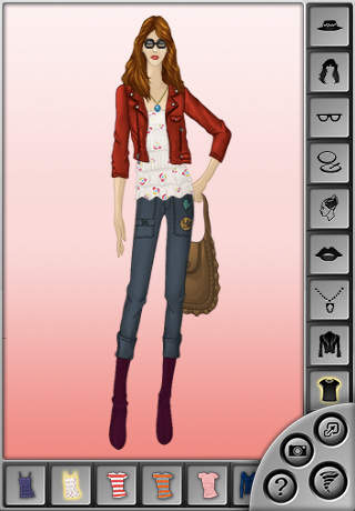 Fashion Sketchbook: The Stylish Dress Up Game