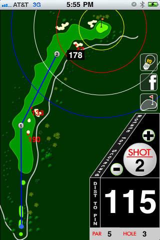 WildHawk Golf Club iPhone Screenshot 1
