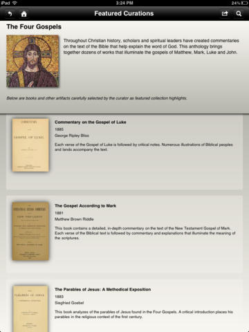The Four Gospels: A Bible Study Collection