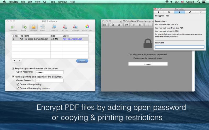 PDF Toolbox   Screenshot - 2