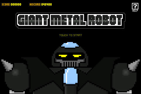 Giant Metal Robot