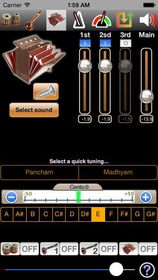 iTabla Pandit iPhone Screenshot 3