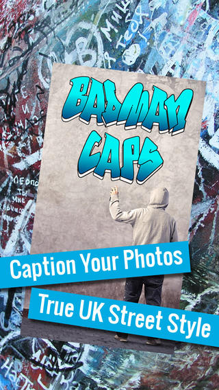 Badman Caps - Caption funny pictures awesome photo selfies with cool urban slang captions - for Inst