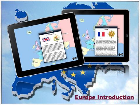Europe Map Game HD