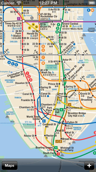 Transit Maps iPhone Screenshot 1