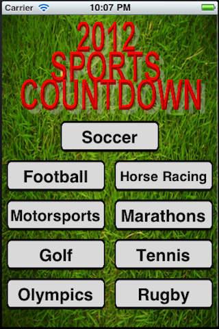 Sports Countdown