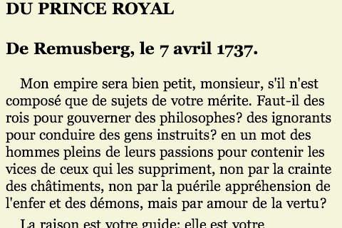 Voltaire (collecte de livres)(Français)