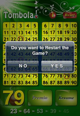 Tombola! iPhone Screenshot 3