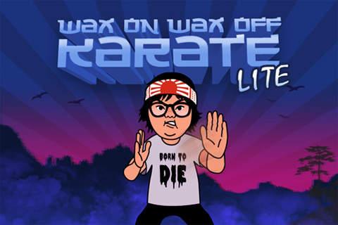 Wax On Wax Off Karate Lite