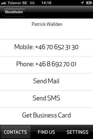 PS Communication App