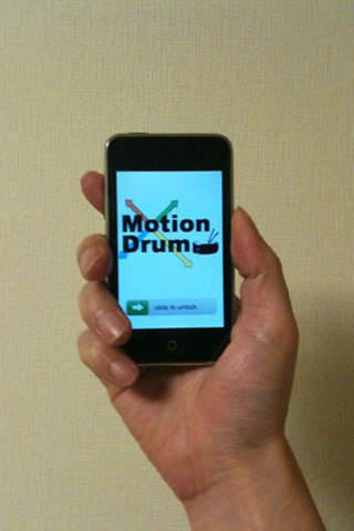 MotionDrum Lite iPhone Screenshot 4