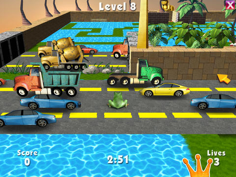 3D Frog Frenzy screenshot 4