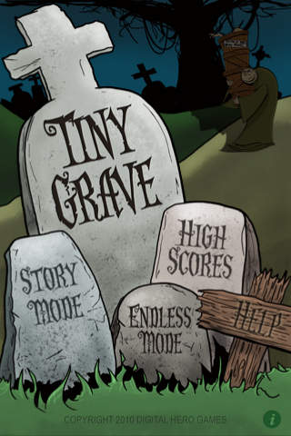 Tiny Grave iPhone Screenshot 1