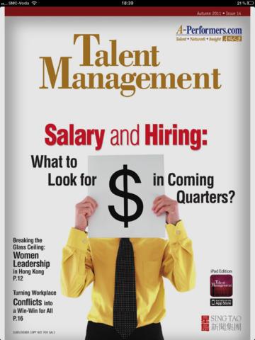 Talent Management Autumn Issue 2011